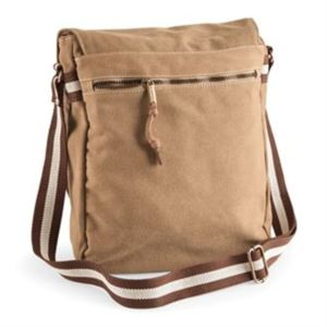 Vintage canvas messenger Thumbnail