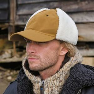 Faux sheepskin hat Thumbnail