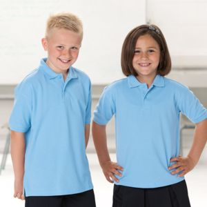 Kids hard-wearing polo shirt Thumbnail