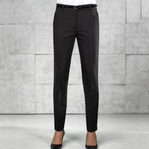 Women's tapered fit polyester trousers Thumbnail